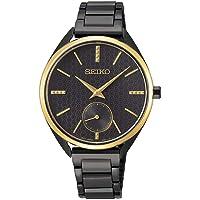 Seiko Women's Analogue Quartz Watch with Stainless Steel Strap SRKZ49P1
