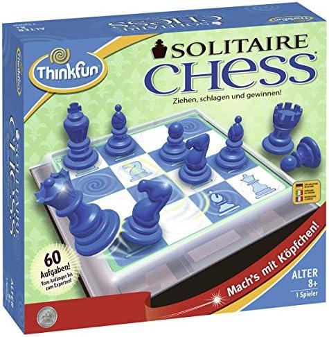 ThinkFun 76325 Soitaire Chess - Juego de Pensamiento: Timonen, Vesa: Amazon.es: Juguetes y juegos
