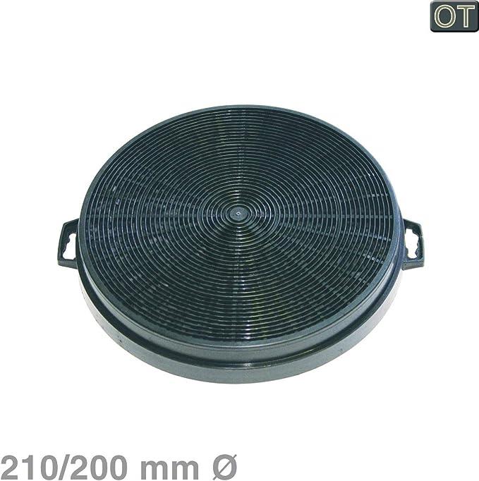Küppersbusch Filtro de carbón Filtro de carbón Activado ?210 210 210/200mm Campana extractora 501303: Amazon.es: Hogar