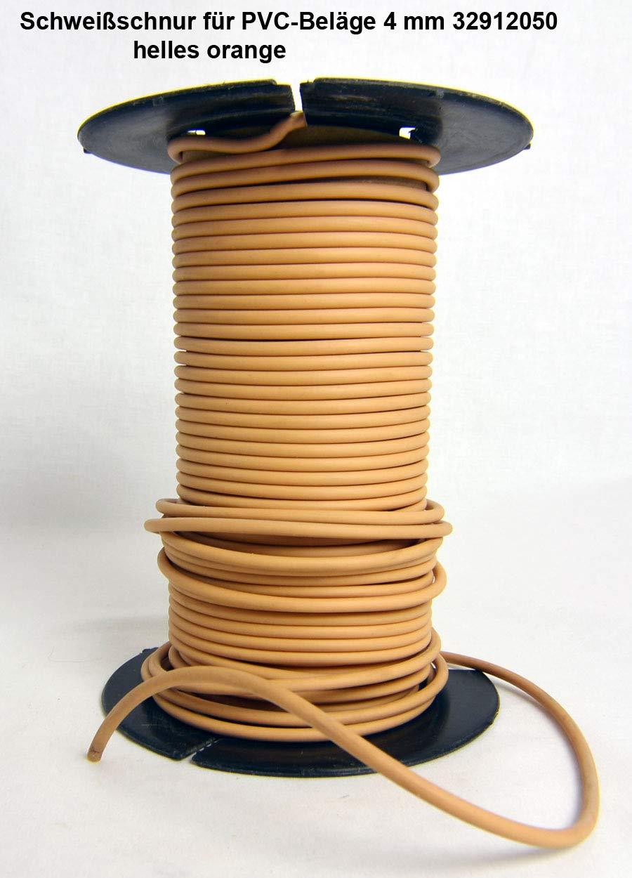 Schwei/ßschnur 4 mmx5m PVC Fb orange Meterware