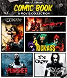 The Ultimate Comic Book 5-Movie Collection (The Crow / The Punisher / The Spirit / Kick-Ass / Conan the Barbarian) [Blu-ray]
