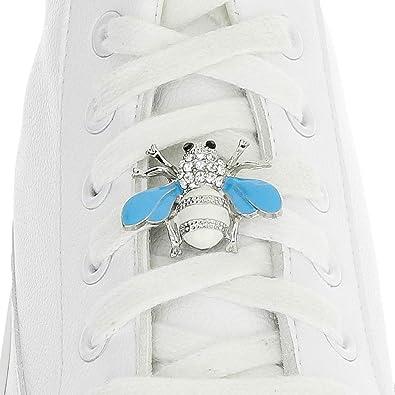 Schnürsenkel für – Anhänger – Sneaker Biene Weiß Nike Tag xBCoWrde