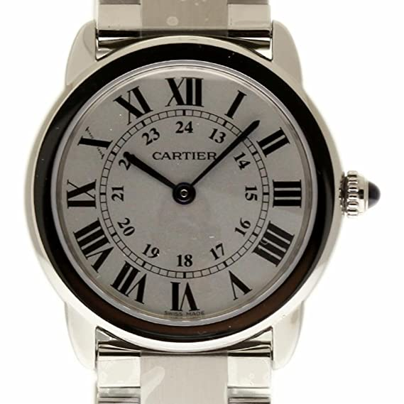 66bcadccd2df Cartier Ronde Solo Swiss-Quartz Womens Watch W6701004 (Certificado) de  Segunda Mano  Cartier  Amazon.es  Relojes
