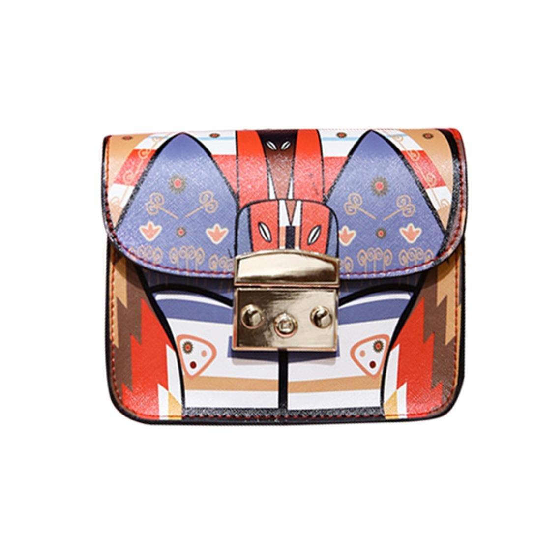 Bolayu Sexy Women Messenger Bag Crossbody Chain Shoulder Bags Fashion Girl Chain Lock Bag Handbag (A)