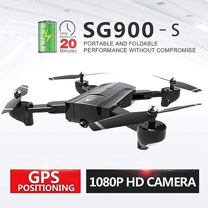 WOSOSYEYO 3Battery Sg900-S One Key Landing HD Cámara RC ...