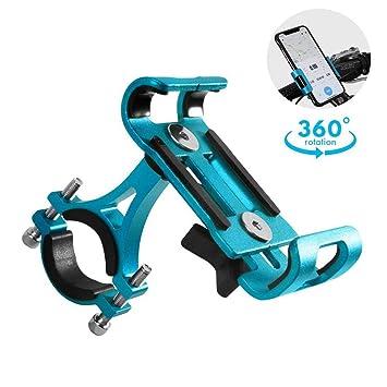 7ebab906956 GuDoQi Porta Celular Universal para Moto, Soporte de Celular para Bicicleta  y Moto, Aleación de Aluminio ...