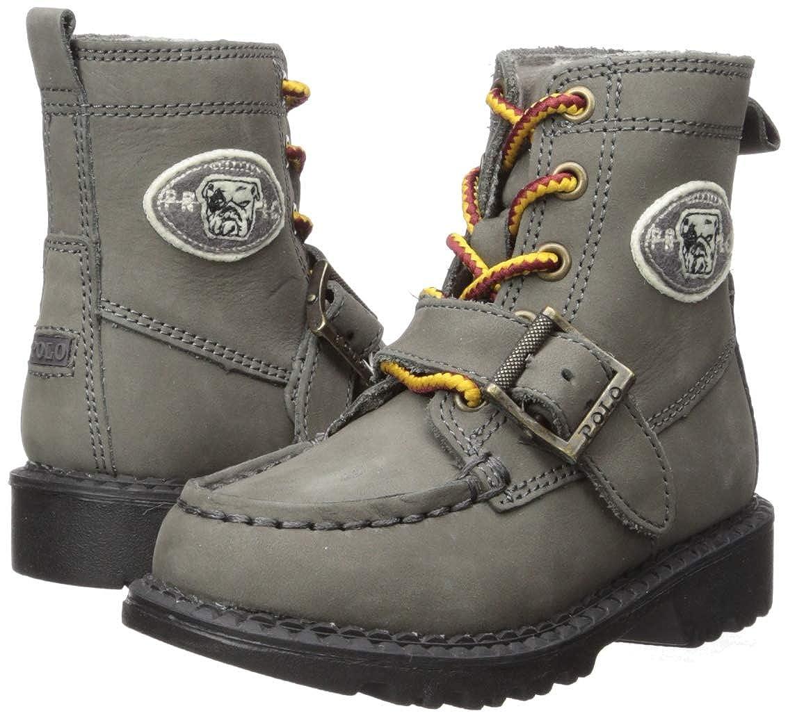 Grey Wool Cream Polo Leather M020 M US Little Kid Polo Ralph Lauren Kids Boys Ranger HI II Fashion Boot