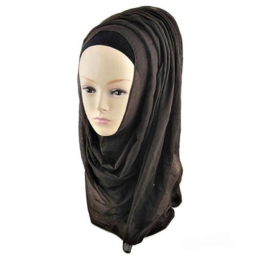 Muslim Women Islamic Hijab Inner Cap Wrap Headwear Shawl Long Soft Scarf  Made in Turkey ( 7fec63ca942