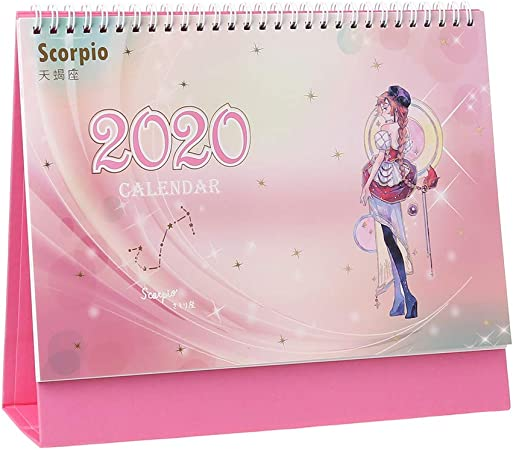 BINGHONG3 Calendario de Escritorio 2019, Calendario 2020 ...