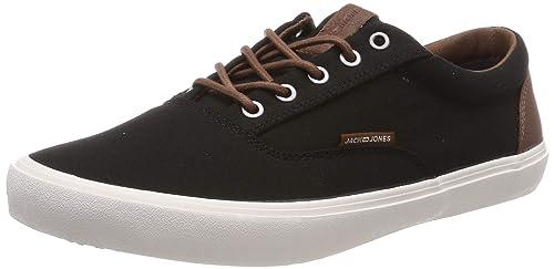 fe6d65e7714230 JACK   JONES Herren Jfwvision Classic Mixed Anthracite Sneaker ...