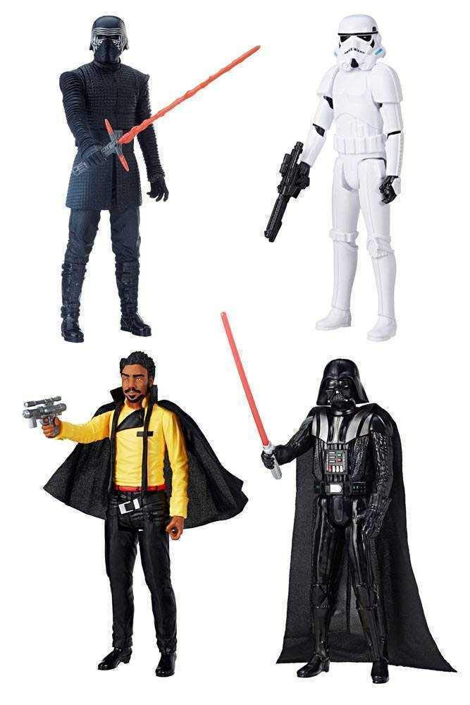Hasbro Star Wars Hero Series Actionfiguren 30 cm 2018 Wave 1 Sortiment (4)