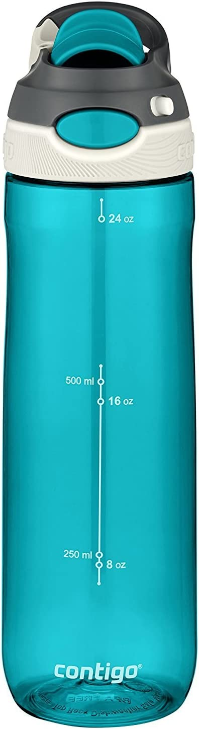 Contigo AUTOSPOUT Chug Water Bottle, 24 oz., Scuba