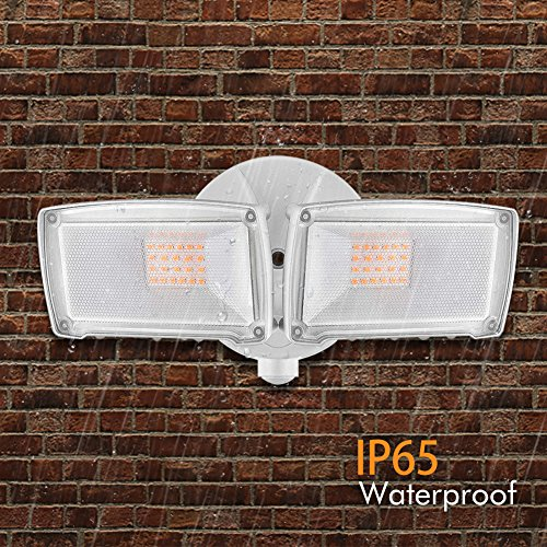 LEPOWER-2500LM-LED-Security-Light-22W-Outdoor-Flood-Light-ETL-Certified-3200K-IP65-Waterproof-2-Adjustable-Heads-for-Entryways-Stairs-Yard-and-Garage