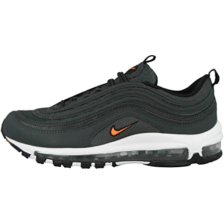 c9f66ae17d2d2 Nike Men's Air Max 97 Competition Running Shoes, Multicolour  (Anthracite/Total Ora 002