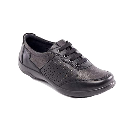 f8a56a33c730e Padders Women's Leather Shoe 'Harp' | Dual Fit System | Extra Wide EE-EEE  Fit | Free Footcare UK Shoehorn: Amazon.co.uk: Shoes & Bags
