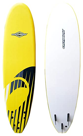 197bc1ece832e Osprey Foam Surfboard Soft Foamie Complete with Leash and Fins