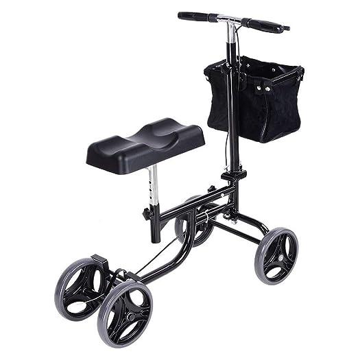Andador de rodilla, Scooter orientable con sistema de doble ...