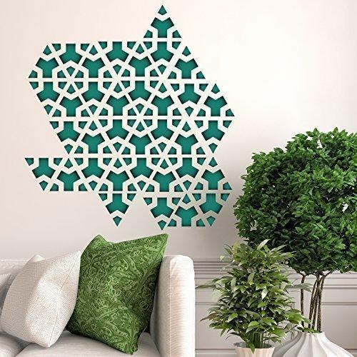 Mural Pattern - Walplus 61x65 cm Wall Stickers