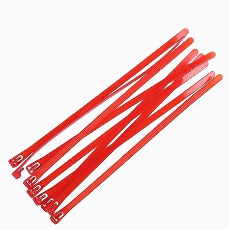 81ea12913736 Amazon.com : NAHASU Cable Ties | 250mm Reusable Plastic Nylon Cable Ties  10inches Computer Cable Wire Loop tie 100pcs releasable Black Zip Tie can  be Loosen ...