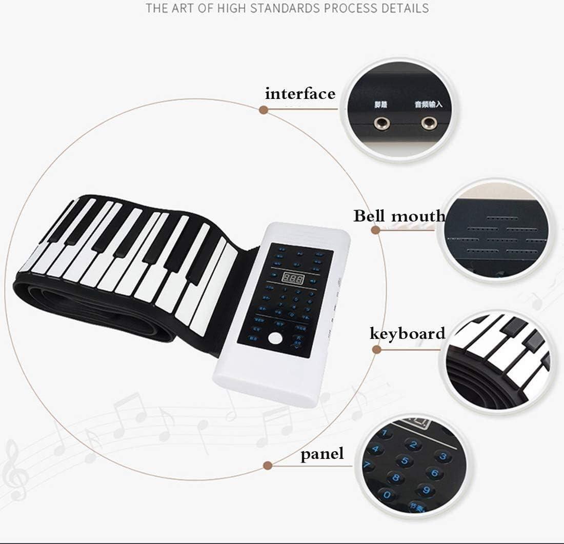 MCRDAE 88-Key Rueda for Arriba el Piano portátil Enseñanza Musical ...