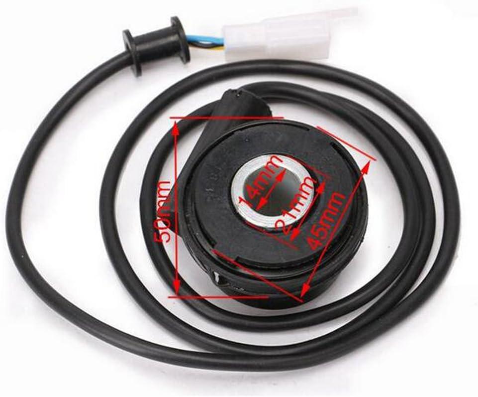 Sharplace Sensore Calibro Odometro Digitale Motociclo Strumento Tachimetro Nero