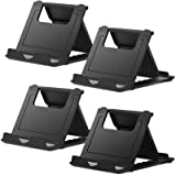 Cell Phone Stand, 4 Pack Tablet Stand, Universal Foldable Multi-Angle Pocket Desktop Holder, Compatible with iPhone 11 Pro Xs