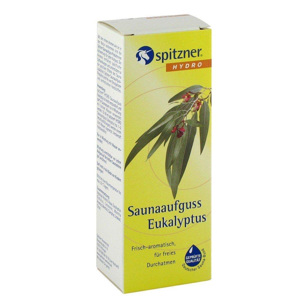 Infusion pour sauna «Eucalyptus» (190ml) de Spitzner