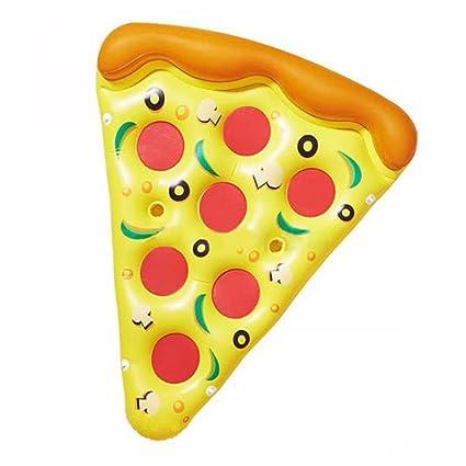 Flotador De La Piscina - Flotadores Gigantes De La Pizza Flotador Inflable Anillo De La Natación