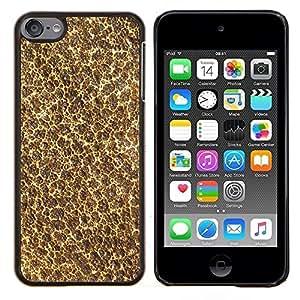 EJOOY---Cubierta de la caja de protección para la piel dura ** Apple iPod Touch 6 6th Touch6 ** --Wallpaper Arte Moderno Espuma Naturaleza Textura