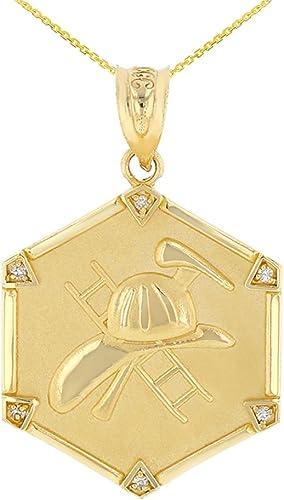 10k Yellow Gold Diamond Cut Landing Eagle Charm Pendant
