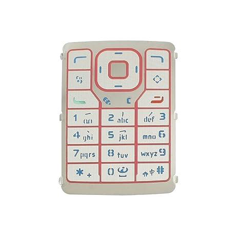 Blau rot Funktion Taste auswechselbare Tastatur für Nokia N76 ...