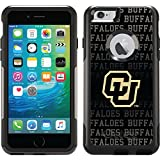 Coveroo Commuter Series Case for iPhone 6 Plus - Retail Packaging - University of Colorado Buffaloes Repeating