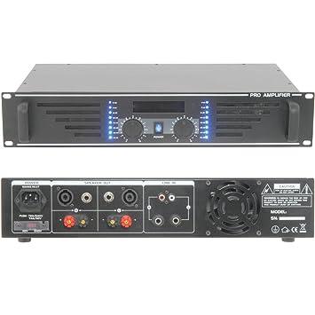Loops 1000W Stereo Power Amplifier - Professional DJ: Amazon