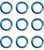 ナポレックス(NAPOLEX) ペダル LONZA(ロンザ) ノンスリップリング ブルー LZ-309