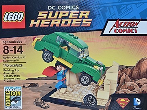 Lego Super Heroes Superman SDCC 2015 Limited Edition DC Action Comics #1 (2015 Sets Lego Superheroes)