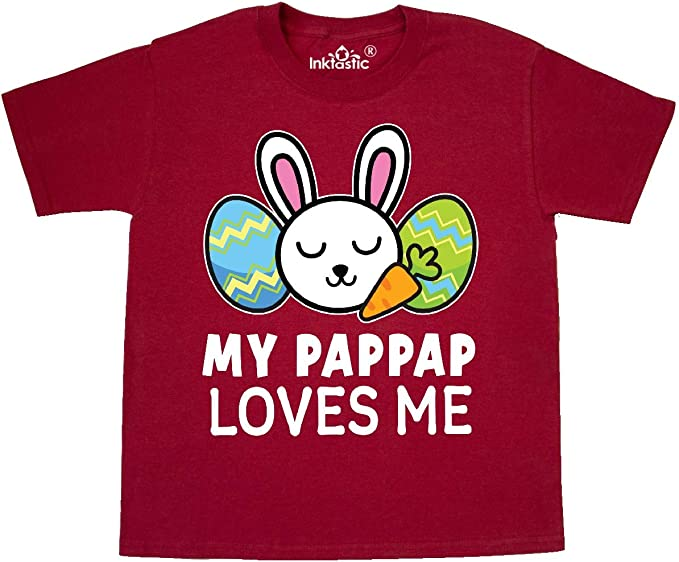 inktastic Happy Easter PapPaps Little Chick Toddler Long Sleeve T-Shirt