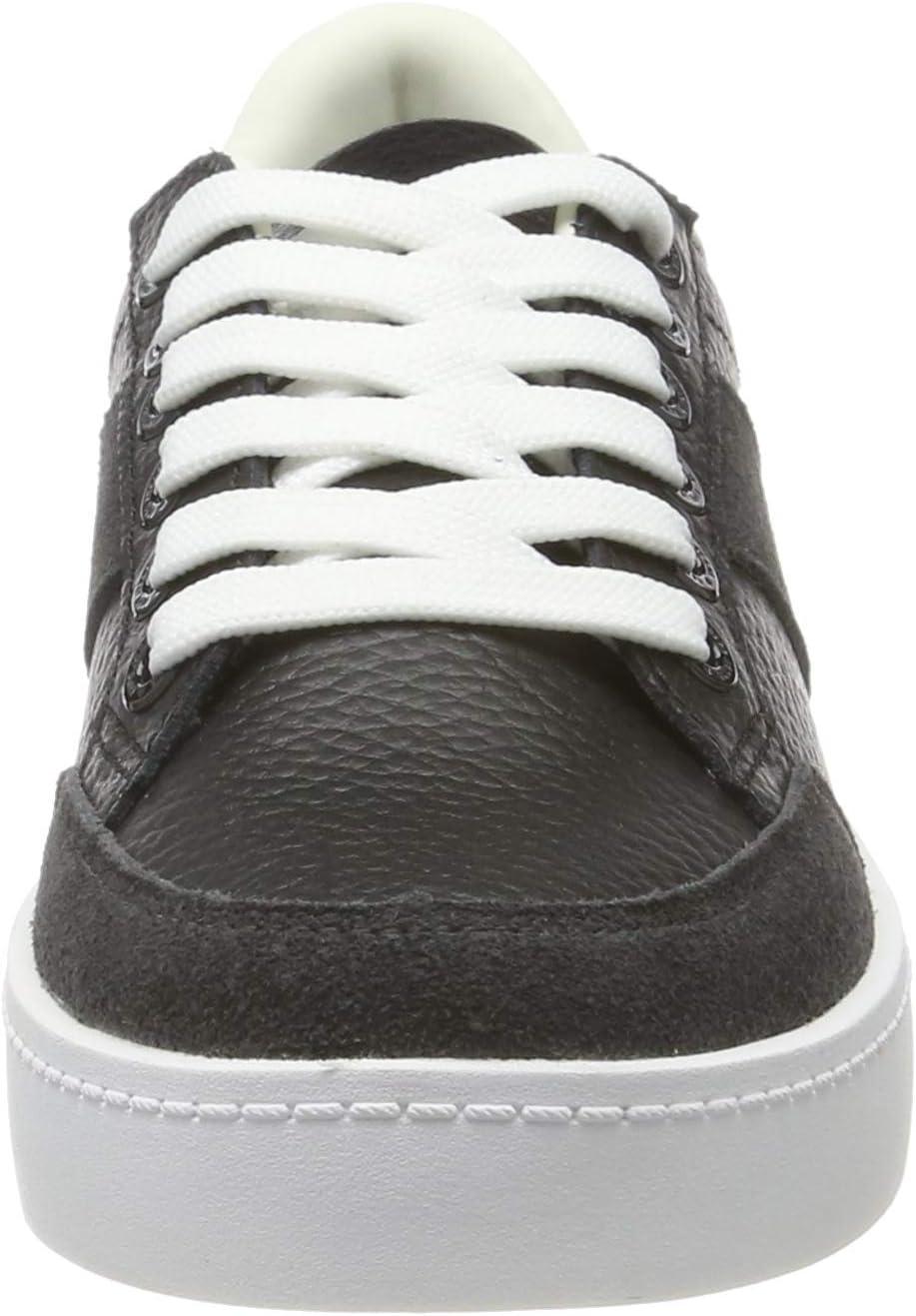 Pepe Jeans dames Brixton Tape Low-Top Sneakers Black Black 999