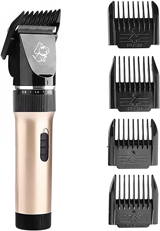 Mascota Cortauñas Kit de afeitado inalámbrico y batería ...