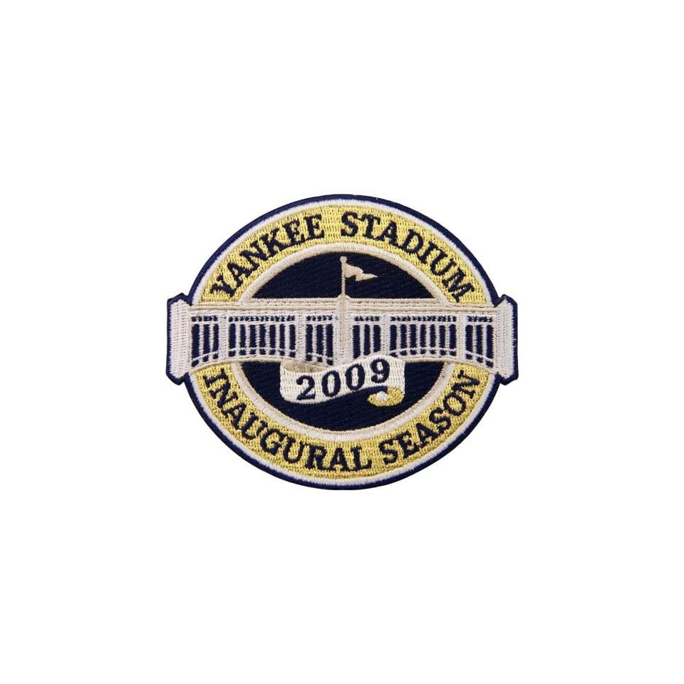 New York Yankees Yankee Stadium Inaugural Season Embroidered Collector Patch