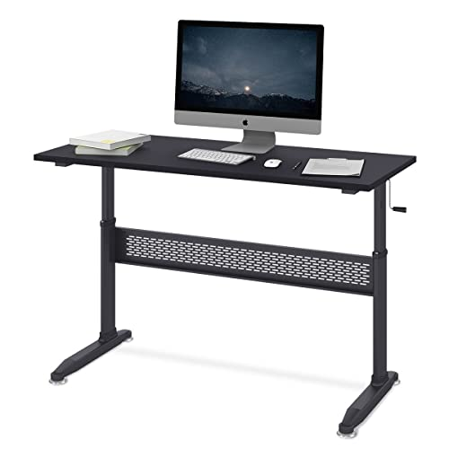 Mobile Standing Desk Computer Workstation Amazon Co Uk
