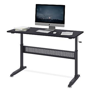 Schreibtisch Hohenverstellbar Kurbel