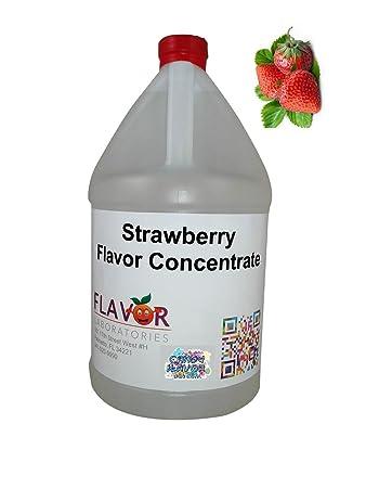 Strawberry Flavoring Concentrate Half Gallon Bulk Strawberry Flavor by  Candy Flavor Dot Com