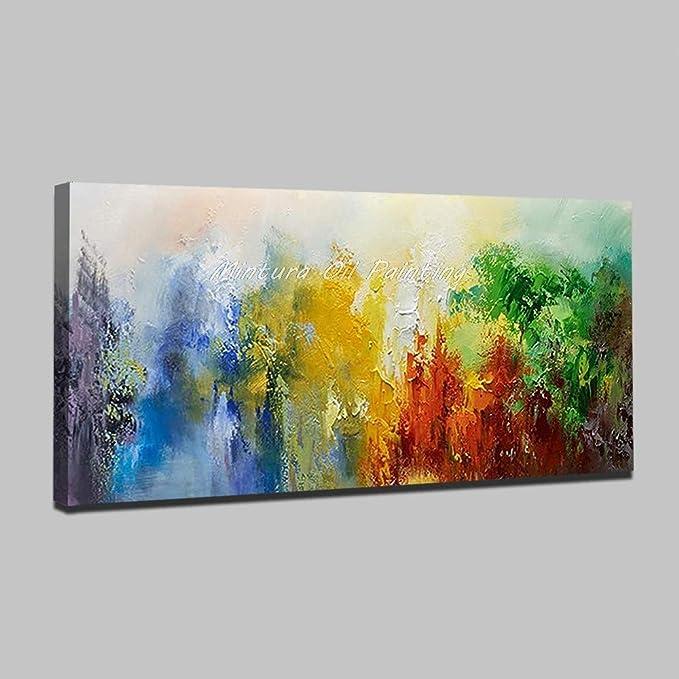 100/% Handgemalt Acryl Öl Gemälde handgemaltes Wand Bild Kunst Leinwand Fremde