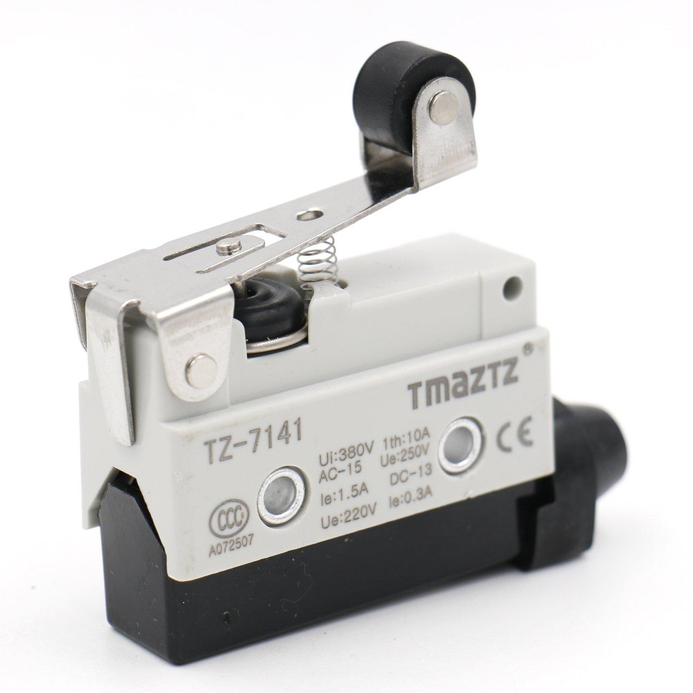 Heschen horizontal Limit Switch Tz-7141/Momentray court Roller Lever actionneur AC 380/V 10/A unipolaire
