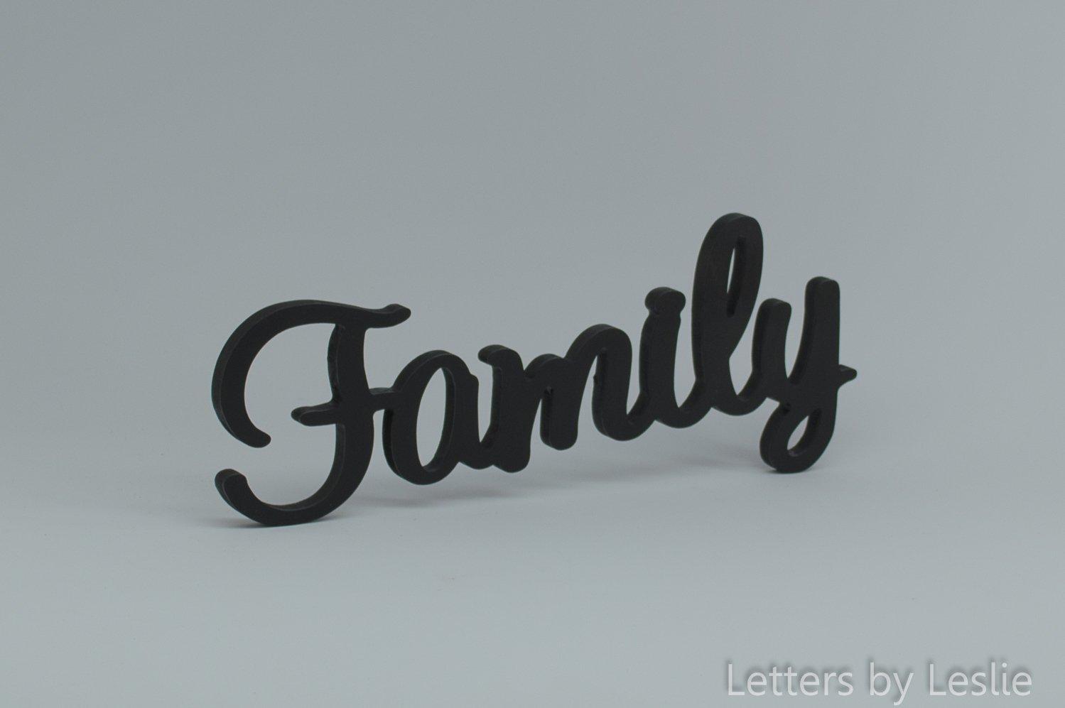Wonderful Family Wall Sign Part - 13: Amazon.com: Family Wooden Wall Sign, Family Wall Decor. Family Wall  Letters. Wooden Wall Sign. Family Sign: Handmade