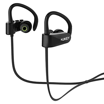 AUKEY EP-b22 Sport Bluetooth Headphone In-Ear Headphones at amazon