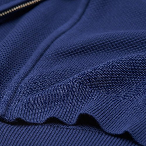 Chaqueta De Cremallera GANT Algodón Piqué Persian Blue