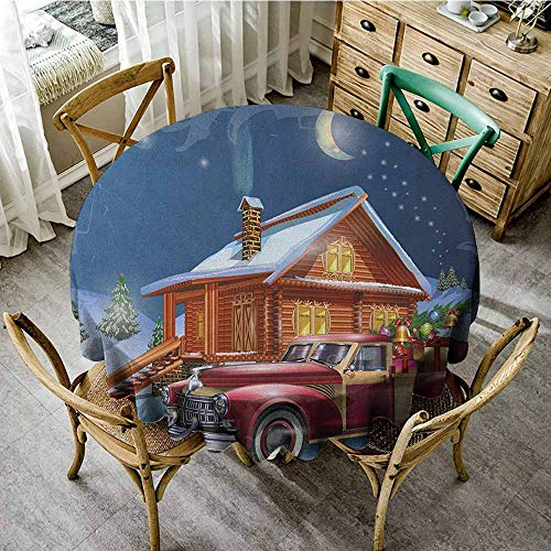 Rank-T Round Tablecloth Kitchen Table 67