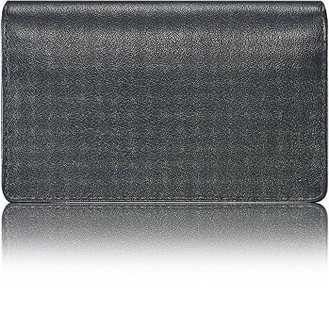 KAVAJ Leather Business Card Holder Case Wallet