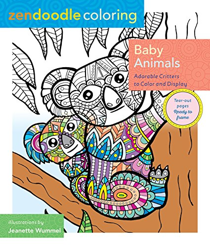 baby animals coloring book - 4